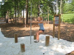 Outdoor Fitness Trail Equipment